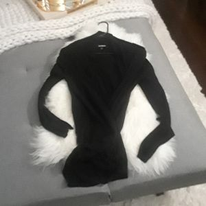 Black Express cardigan